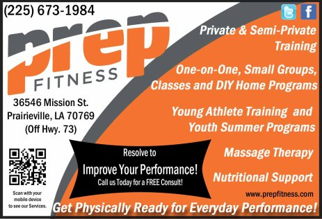 Prep Fitness Private Personal Training Facility